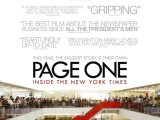 Review: Page One: Inside the New York Times, 2011, dir. Andrew Rossi