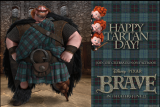 Happy Tartan Day, From Pixar!