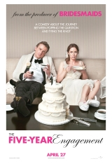 Review: The Five-Year Engagement, 2012, dir. Nicholas Stoller