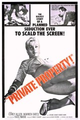 Review: Private Property, 1960, dir. LeslieStevens
